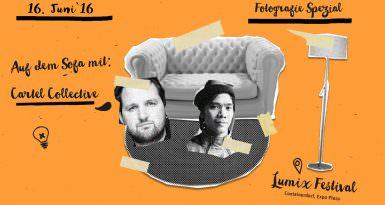 Cartel Collective beim Sofatalk | Lumix–Spezial