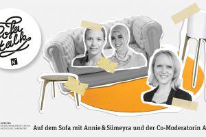 SofaTalk mit Annie und Sümeyra über Perspektiven nach dem PR-Studium