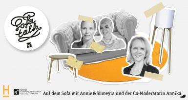 Sümeyra und Annie auf'm Sofa