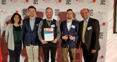 ProTon gewinnt den Sonderpreis beim Startup-Impuls-Wettbewerb