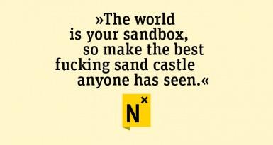 »best fucking sandcastle« – was den Entrepreneur ausmacht
