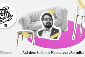 "Sofatalk mit Manouchehr Shamsrizi von ""RetroBrain"""