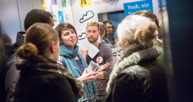 """""""Elevator-Show"""" von Nexster nicht nur für die Entrepreneure ein Erfolg"""