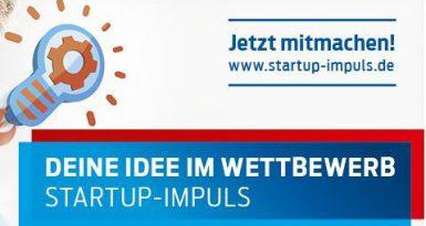 Gründungswettbewerb Startup-Impuls geht wieder los!