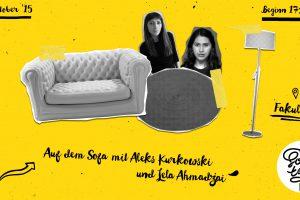 SofaTalk: Aleks Kurkowski & Lela Ahmadzai