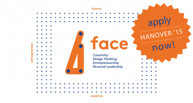 FACE: future · authentic · creative · entrepreneur