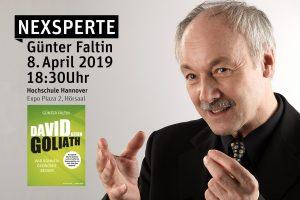 Buchvorstellung von Nexsperte Günter Faltin