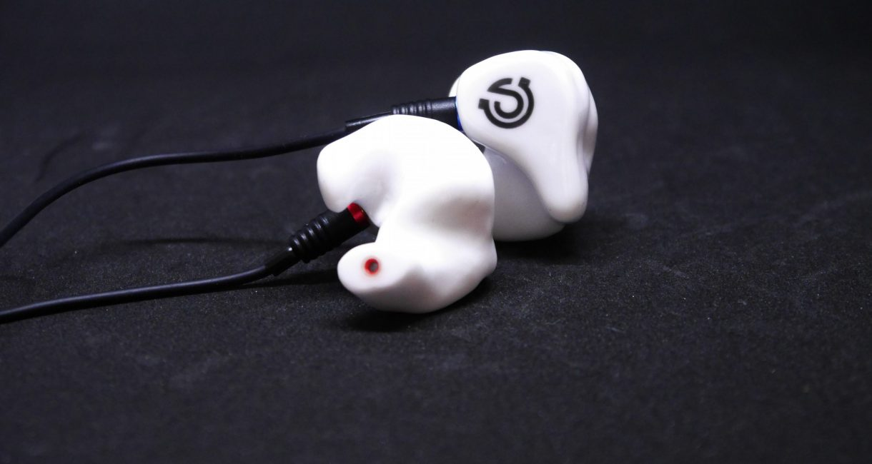 In-Ohr-Kopfhörer weiß