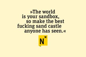 build the best f***ing sandcastle